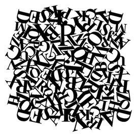 Pronty Pronty lettere Maschera Mix