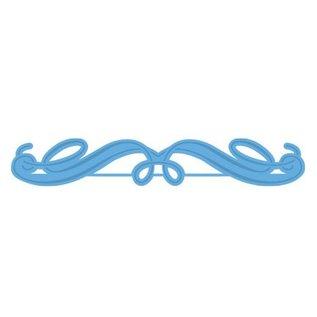 Marianne Design Ponsen - en embossing sjabloon, elegant grens