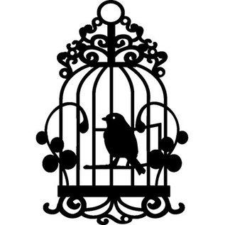 Pronty Pronty Mask Designs, 148 x 210mm - Birdcage