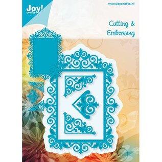 Joy!Crafts / Jeanine´s Art, Hobby Solutions Dies /  BASTEL TIP: punzonatura - e goffratura stencil, la struttura superiore e 3 vertici