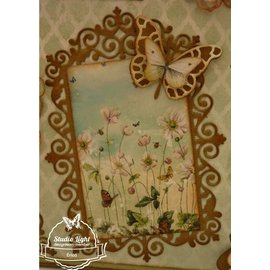 Joy!Crafts / Jeanine´s Art, Hobby Solutions Dies /  BASTELTIPP: punching and pre - template, top frame and 3 corners