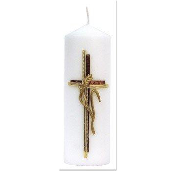 BASTELSETS / CRAFT KITS Bastelset: bougie, croix avec l'oreille