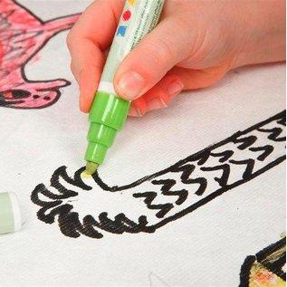 Kinder Bastelsets / Kids Craft Kits Te versieren gemakkelijk te schilderen met Stoffmalstift, - 2 zonneklep voor de auto