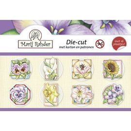 """Craft book for card design """"flowers"""""""