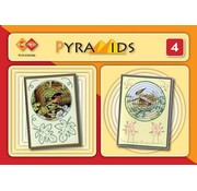 Bücher, Zeitschriften und CD / Magazines 3D boekje Pyramids 4, with Stitch