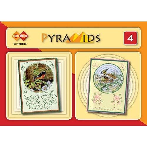Bücher, Zeitschriften und CD / Magazines 3D boekje Pyramides 4, point