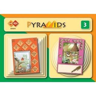 Bücher, Zeitschriften und CD / Magazines 3D boekje Pyramids