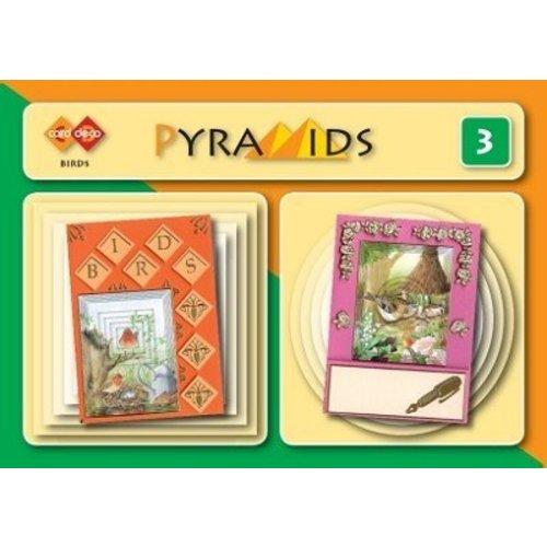 Bücher, Zeitschriften und CD / Magazines 3D boekje Pyramides