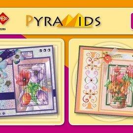 Bücher, Zeitschriften und CD / Magazines 3D boekje Pyramids, with Stitch