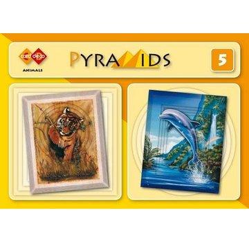 Bücher, Zeitschriften und CD / Magazines 3D boekje Pyramids, Tiere