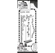 Yvonne Creations Stanz- und Prägeschablone, Blumen Schaukel mit Pergola