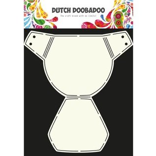 Dutch DooBaDoo A4 Template: Layout baby thing