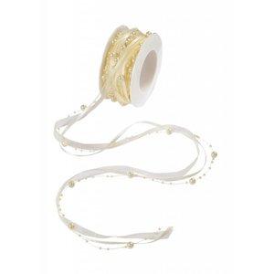 DEKOBAND / RIBBONS / RUBANS ... wunderschönes Perlenband!