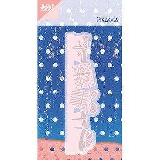 Joy!Crafts / Jeanine´s Art, Hobby Solutions Dies /  Snij en embossing stencil, geschenkverpakkingen