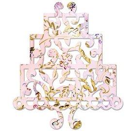 Sizzix Thinlits Sizzix Stamper - Cake, Tres animales por los diseños de Dena