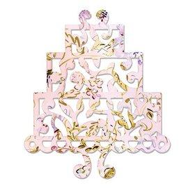 Sizzix Thinlits Sizzix Stampers - Cake, tre dyr av Dena Designs