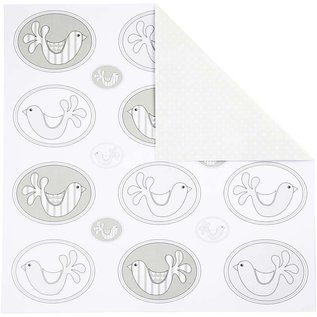 Karten und Scrapbooking Papier, Papier blöcke Design-Papier, 30,5x30,5 cm, 5 Blatt