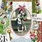 DECOUPAGE AND ACCESSOIRES 1 Exclusive Designer Vintage Tasse in hübsche Metallbox (groß)