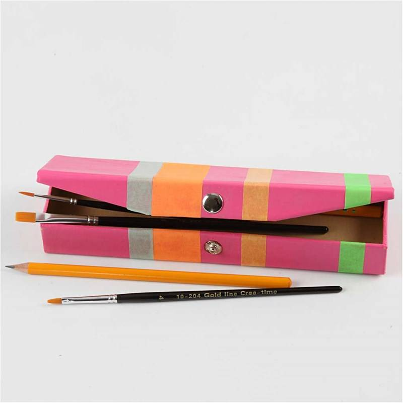 Pencil Case To Decorate Paint Etc Hobby Crafts24 Eu English
