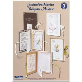 BASTELSETS / CRAFT KITS Craft Kit, gift book tickets for religious occasions