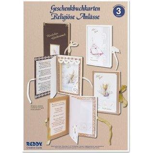 BASTELSETS / CRAFT KITS Bastelset, Geschenkbuchkarten für religiöse Anlässe