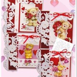 "BASTELSETS / CRAFT KITS Kit completo Craft, tarjetas para diferentes ocasiones ""el amor lo soporta"""