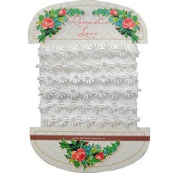 DEKOBAND / RIBBONS / RUBANS ... dentelle très jolie romantique - fleurs de dentelle romantique