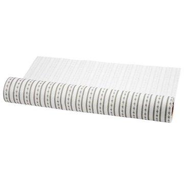 FILZ / FELT / FEUTRE Conception sentait, W: 45 cm, blanc et gris, 1 m