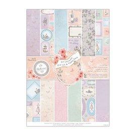 Karten und Scrapbooking Papier, Papier blöcke Bloque de diseñador con hoja perforada