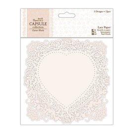 KARTEN und Zubehör / Cards Beautiful luxury lace doilies, paper doilies