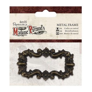 Embellishments / Verzierungen Vintage metal frame