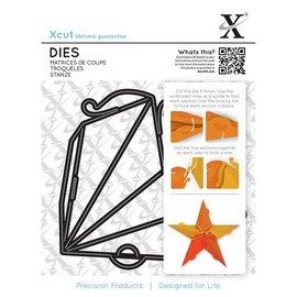 Docrafts / X-Cut Punch - y la plantilla de estampado para una estrella