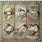 Spellbinders und Rayher Shapeabilities modello di metallo, incorniciato Fancy Tags 3, 4 x 1-10,9 x 3.1 cm, 6 pezzi