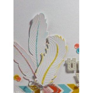 Spellbinders und Rayher modello di metallo Shapeabilities, primavera, Un set di 6 modelli.