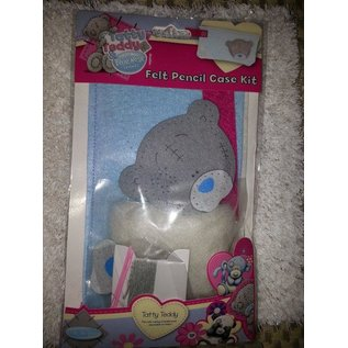 Kinder Bastelsets / Kids Craft Kits Tatty Teddy, ambachtelijke kit voor een Filtz etui.