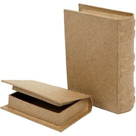 Objekten zum Dekorieren / objects for decorating 2 scatola in forma di libro in due misure!