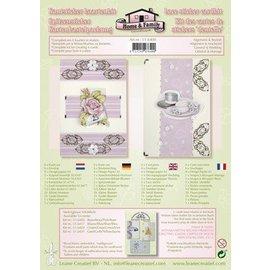 Leane Creatief - Lea'bilities und By Lene Lace sticker - card kit