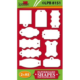Embellishments / Verzierungen Labels für Scrapbooking und Karten Gestaltung