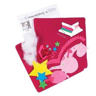 Kinder Bastelsets / Kids Craft Kits Bastelset: Kinder Filzkissen mit onte
