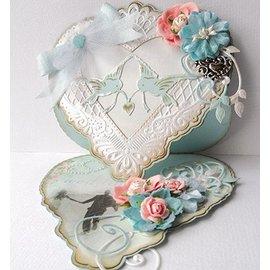 Marianne Design Corte y repujado plantilla, amor