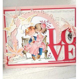 Marianne Design Snijden en embossing stencil, liefde