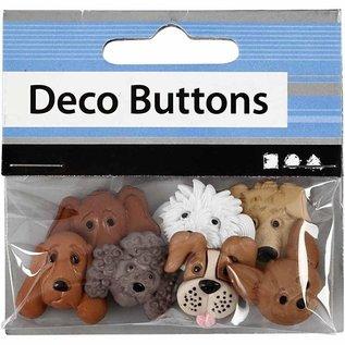 Embellishments / Verzierungen Reliëf plastic knoppen