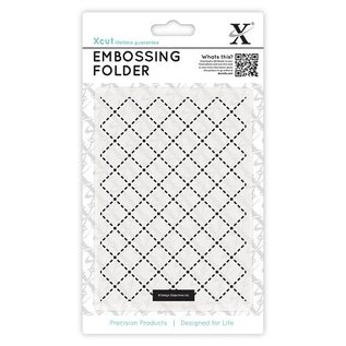 embossing Präge Folder A2 embossing folders grid motif