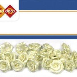 Embellishments / Verzierungen 20 rosas blancas