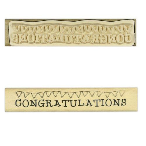 Stempel / Stamp: Holz / Wood Anita`s - Holze Text Stempel