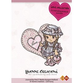Yvonne Creations Rubber stempel,