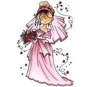 Marianne Design Timbri trasparenti, Snoesje - Ecco che arriva la sposa, 10,5 x 18 centimetri