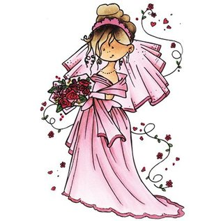 Marianne Design Snoesje - Here comes the bride, 10.5 x 18cm