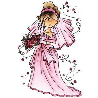 Marianne Design Snoesje - Hier komt de bruid, 10,5 x 18cm