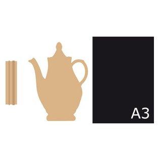 Objekten zum Dekorieren / objects for decorating Tea pot